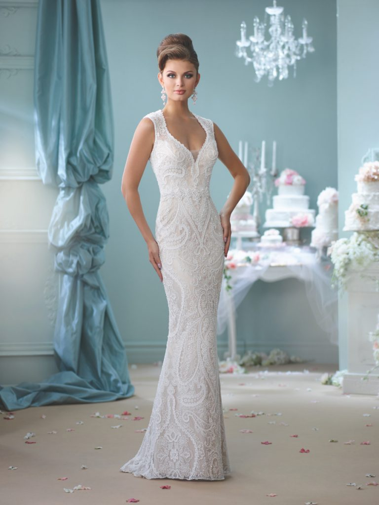 Sheath Wedding Dresses - Always and Forever Bridal