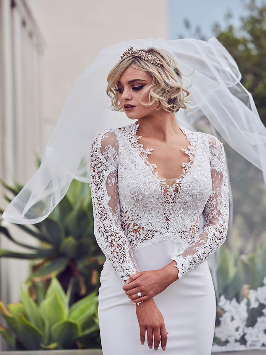glamorous gown