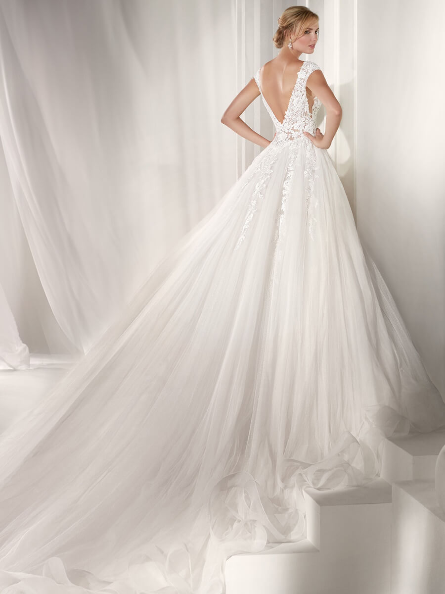 stunning and elegant Ball gown