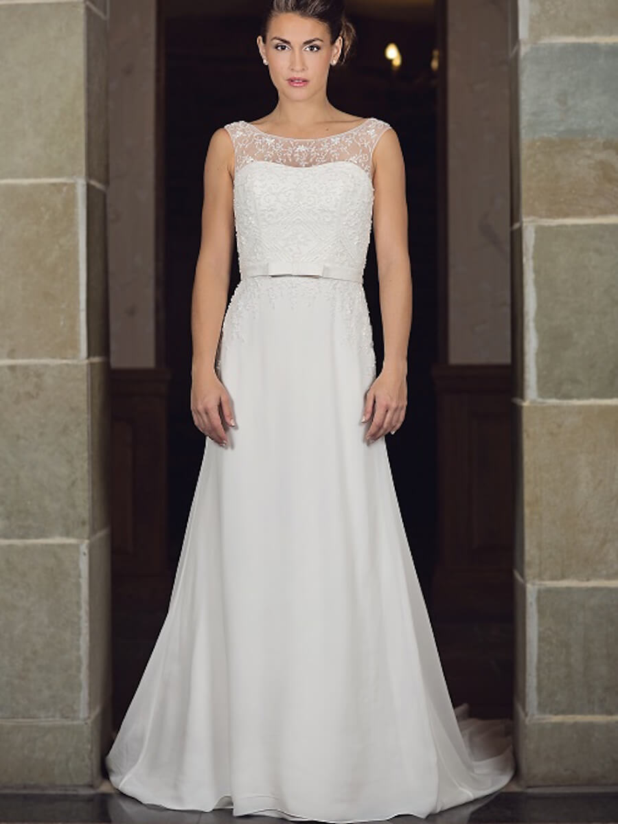 sheath gown