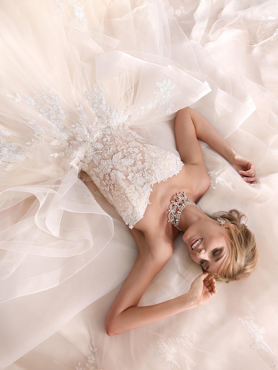 precious princess like wedding gown
