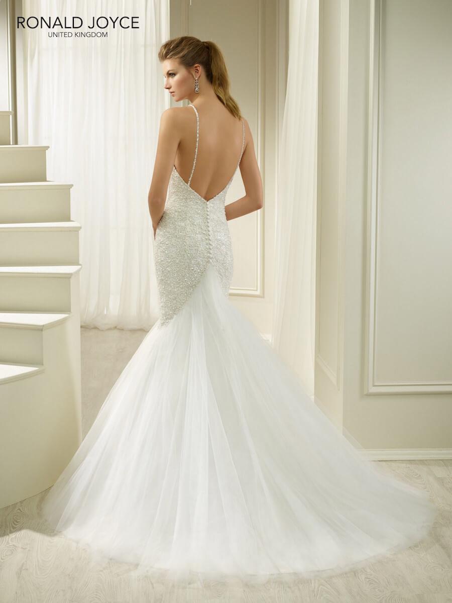 stunning fishtail dress