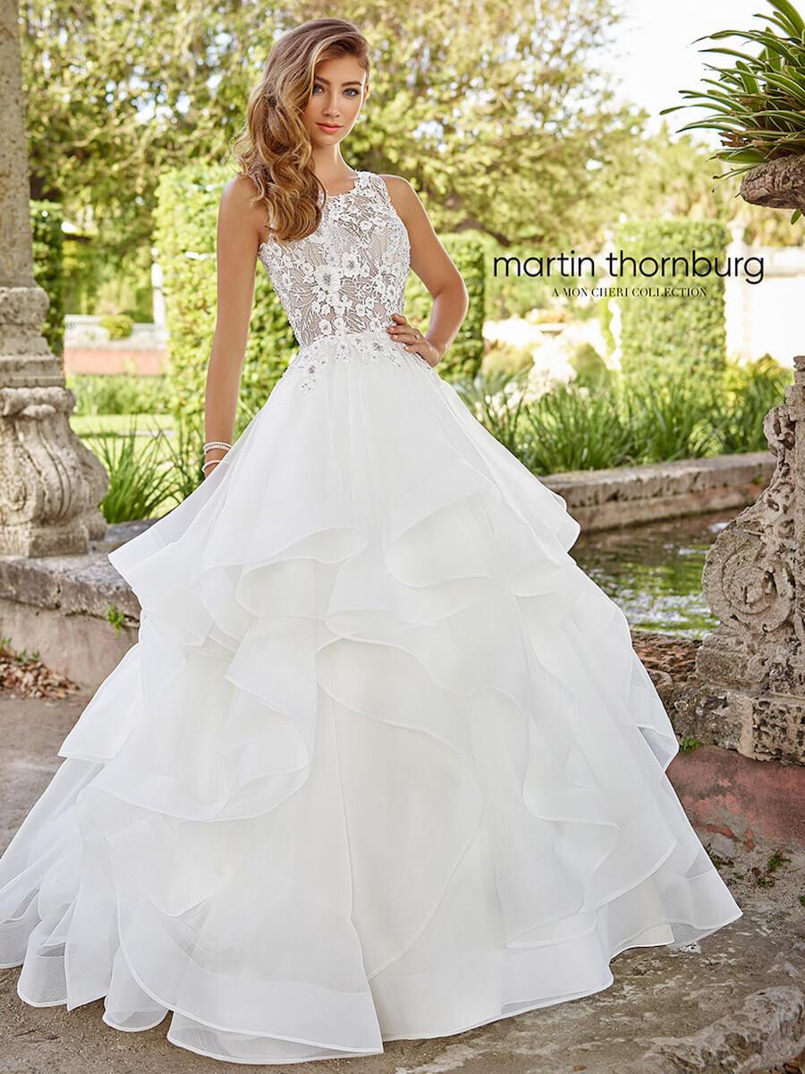 gorgeous sleeveless ball gown