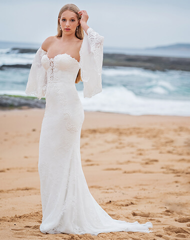 Curacoa wedding dresses and gowns