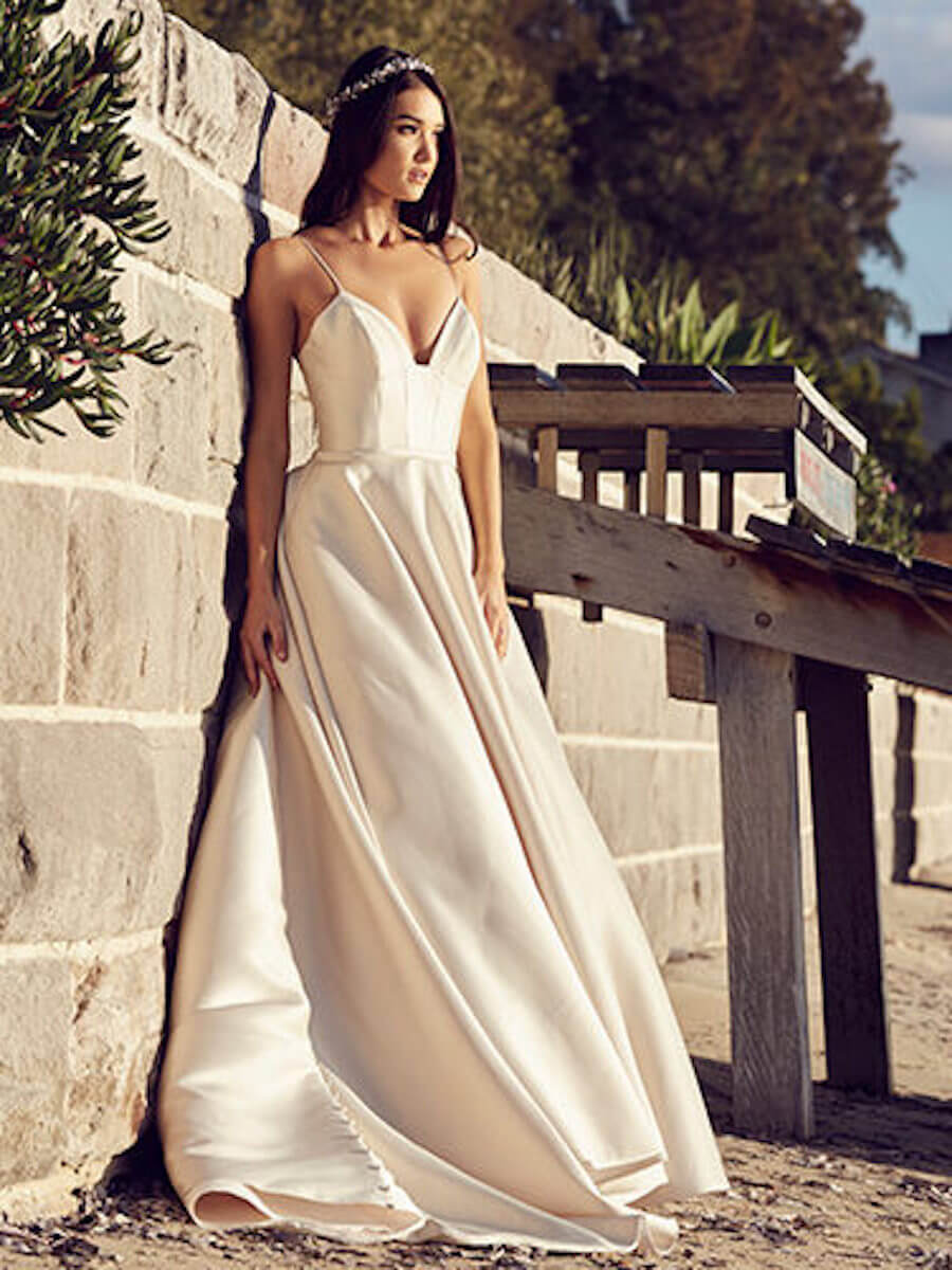 Chardonnay wedding dresses and gowns