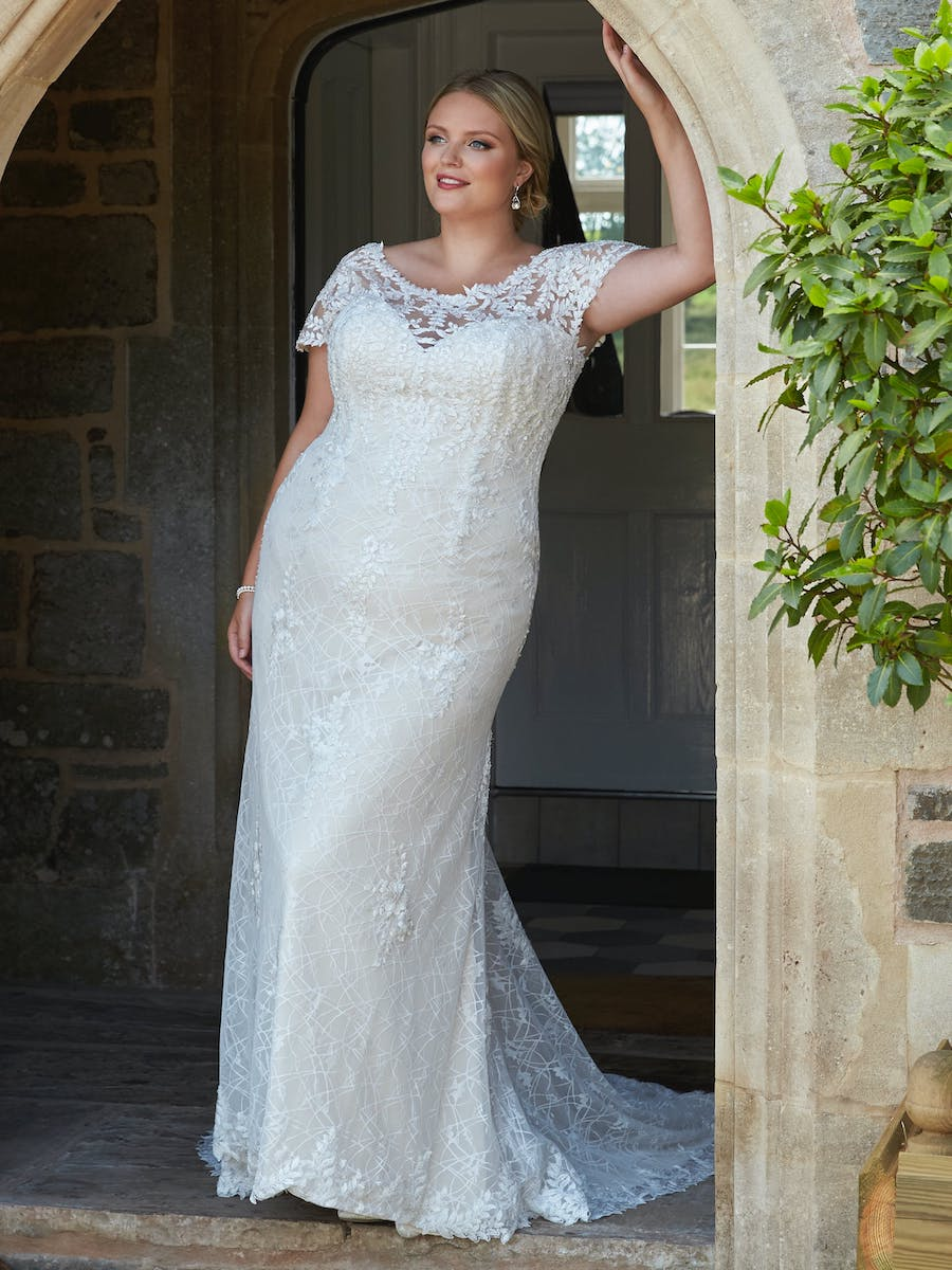 silhouette_cherrie bridal dress