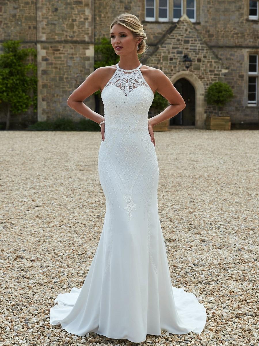 justina bridal dress